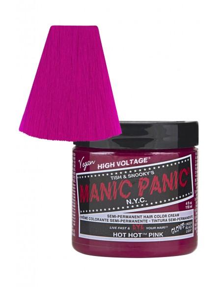 Manic Panic Hair Dye - Hot Hot Pink - Classic Cream Formula