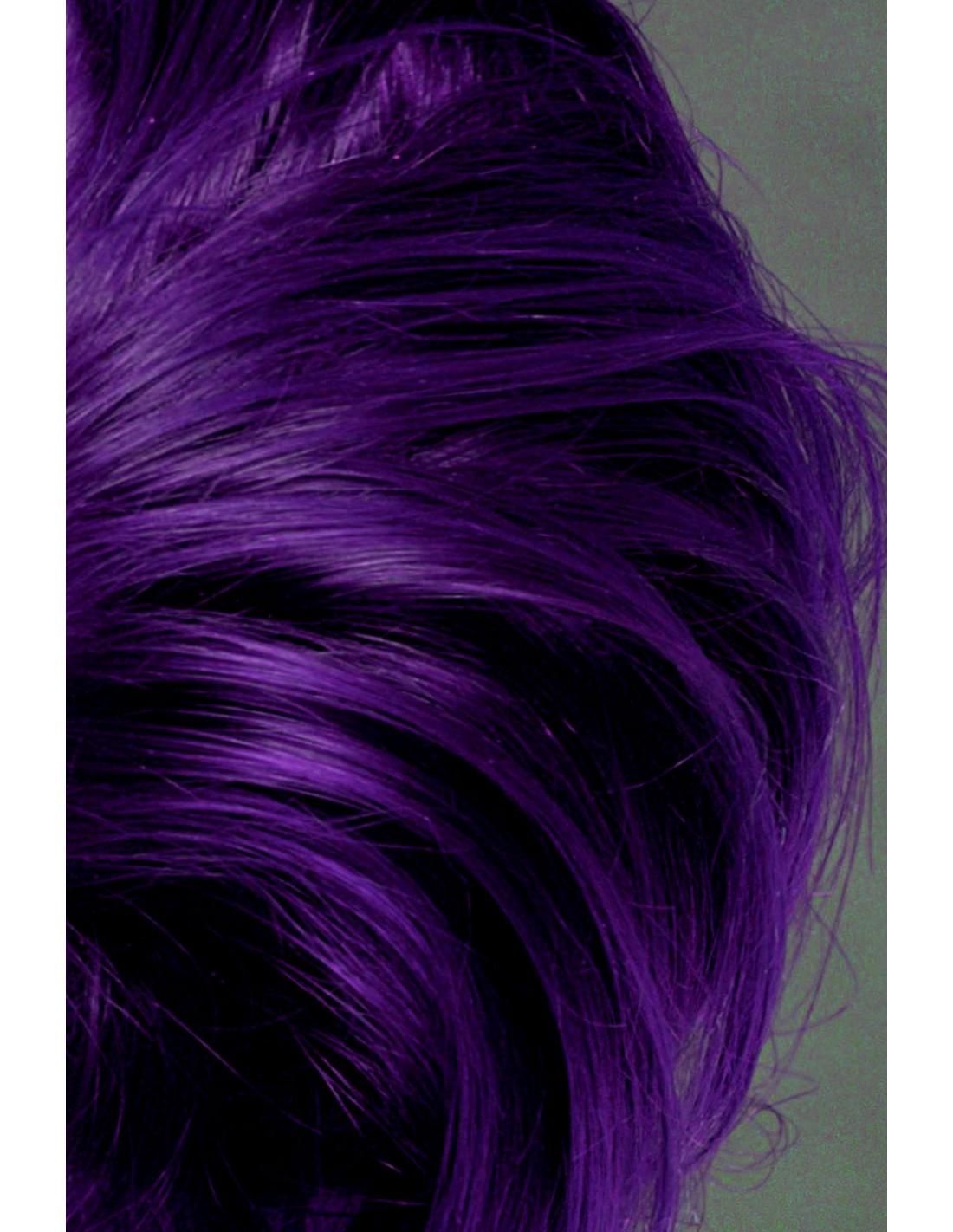 Deep Purple Dream Manic Panic On Dark Hair