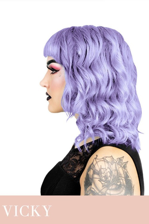 Herman S Amazing Hair Color Vicky Pastel Violet