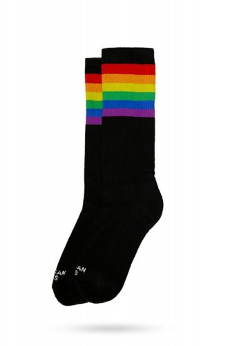 Mid High Socks - Rainbow...