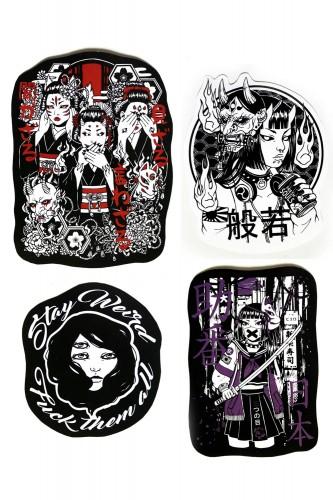 Set de Stickers 3eyes