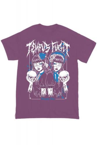 Camiseta Tempus Fugit Lila