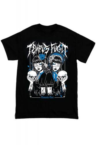 Camiseta Tempus Fugit Negro