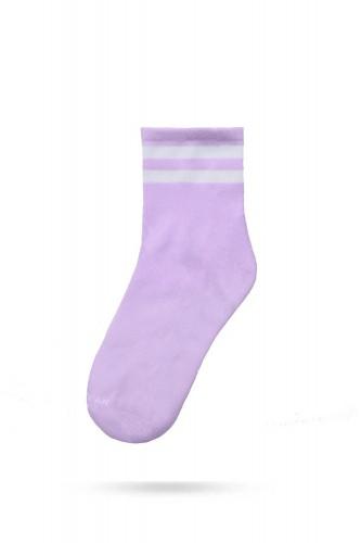 Ankle High Socks - Violet...