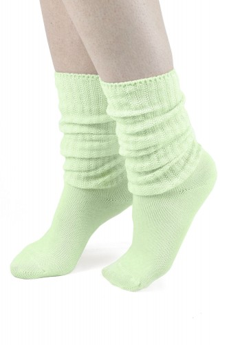 Pastel Green Loose Socks ~...