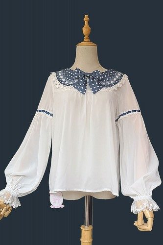 Blueberry Blouse with...