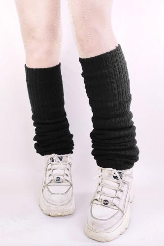 Black Loose Socks 90cm