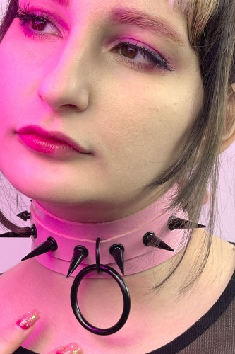 BLACKOUT Choker with Spikes...