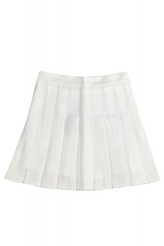 Falda Tennis Plisada Blanco...
