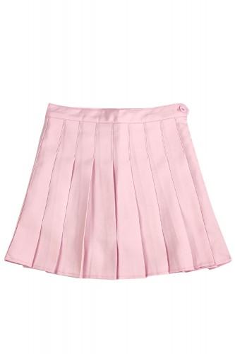 Tennis Pleated Skirt SOLID...
