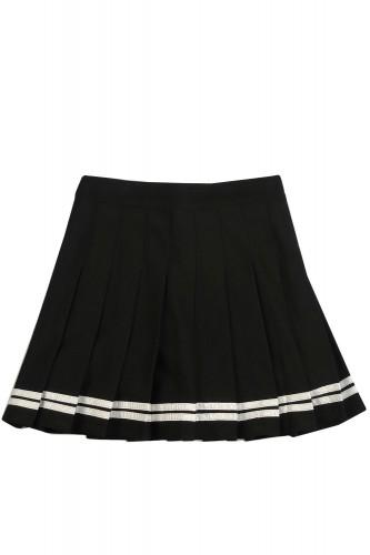 Pleated Skirt SAILOR BLACK