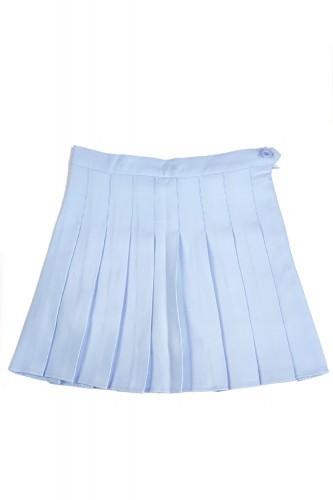 Falda Tennis Plisada Azul...