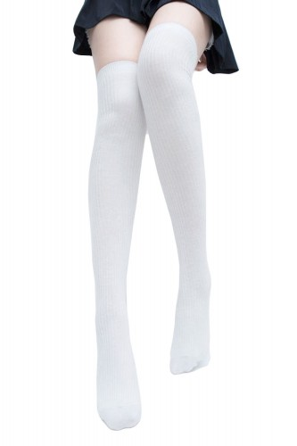 Long Socks - White
