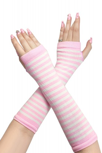 Armwarmers - Pastel Pink x...