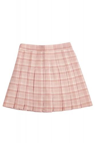 Tartan Pleated Skirt SAKURA