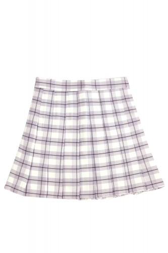Tartan Pleated Skirt...